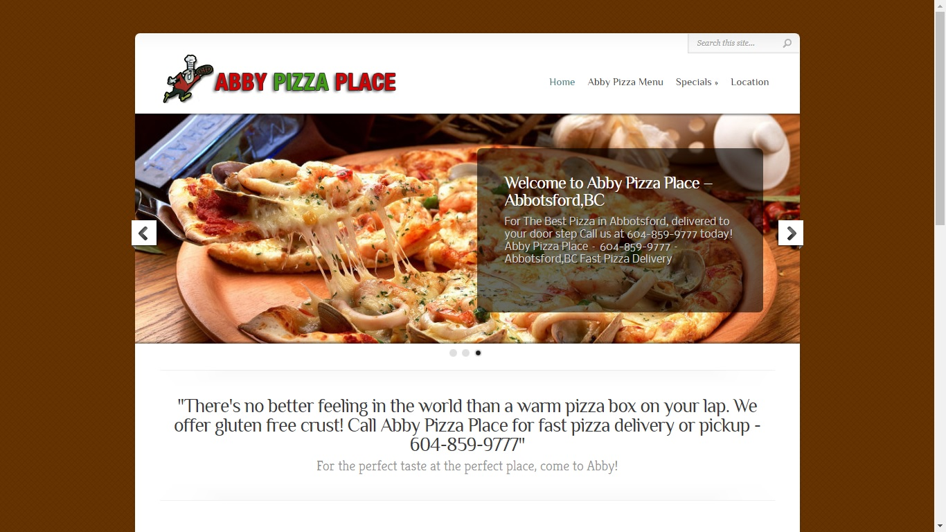 abby pizza place