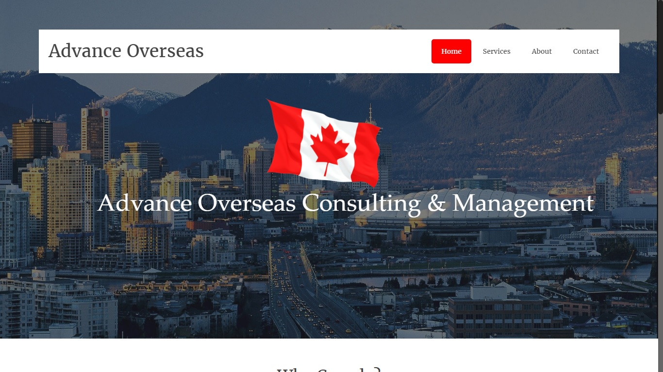 immigration services website