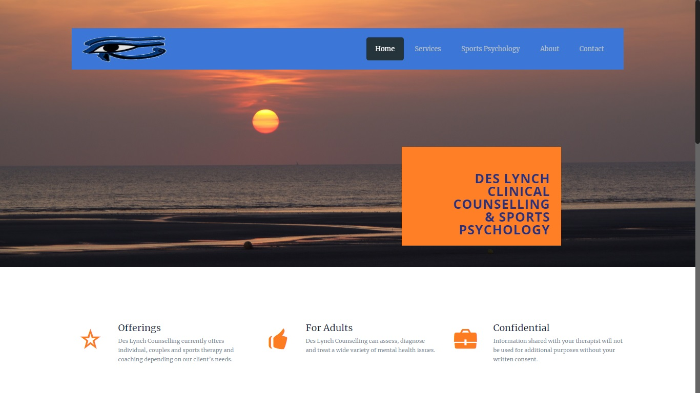 Clinical Counselling website