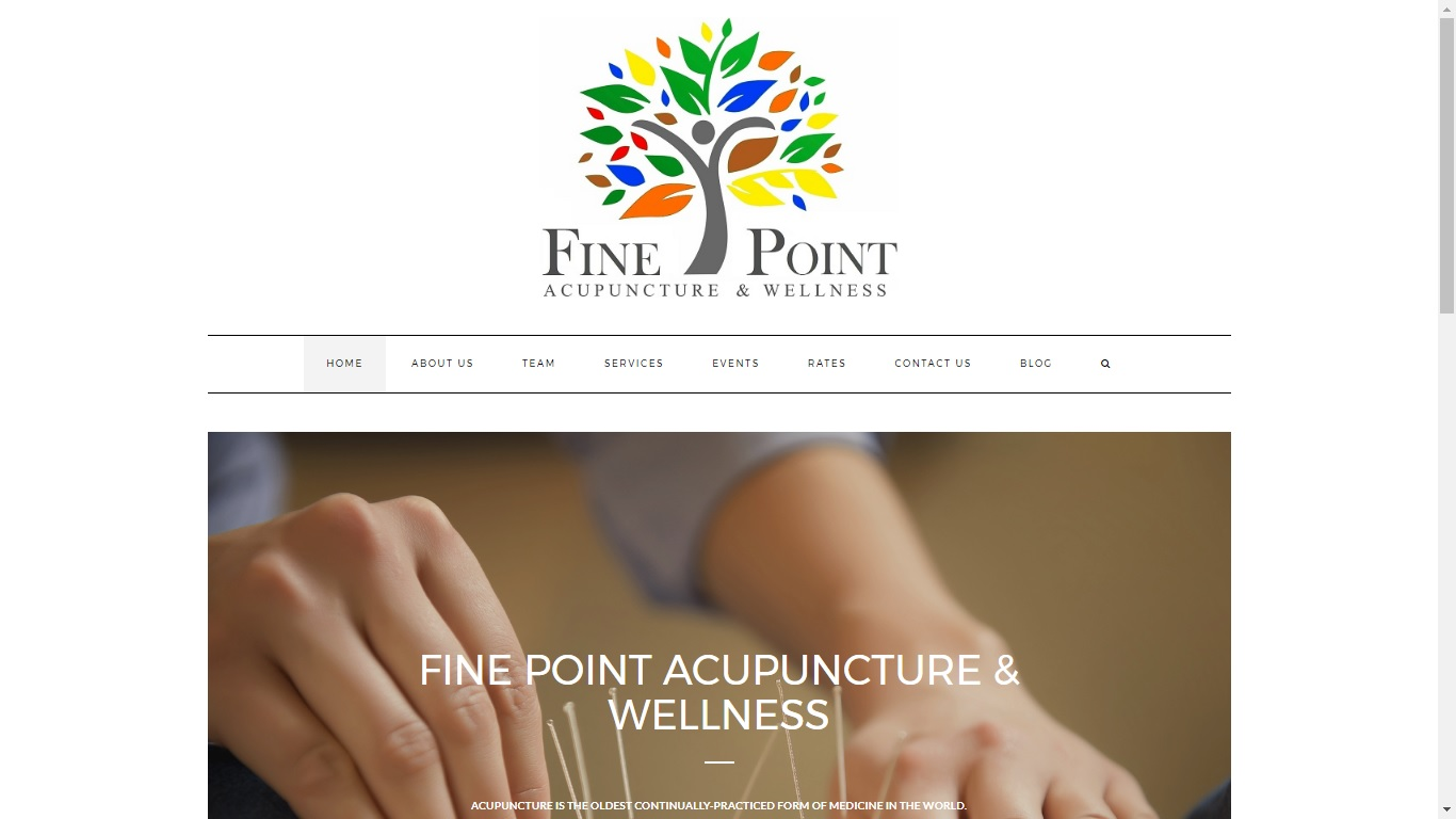 acupuncture website designer