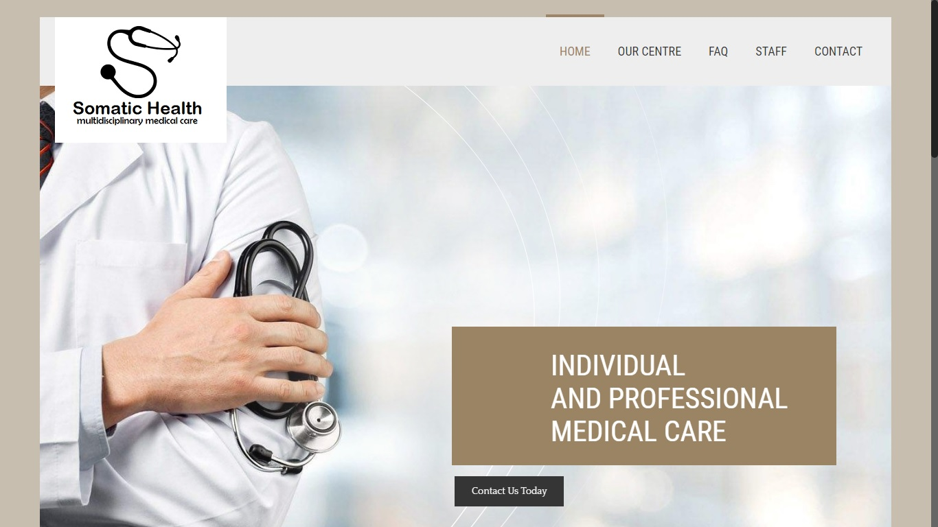 Website for clinic in surrey