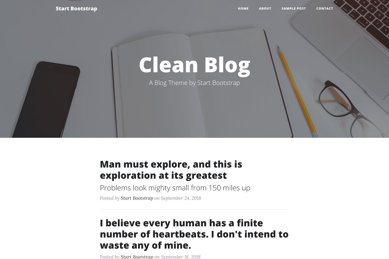 clean-blog