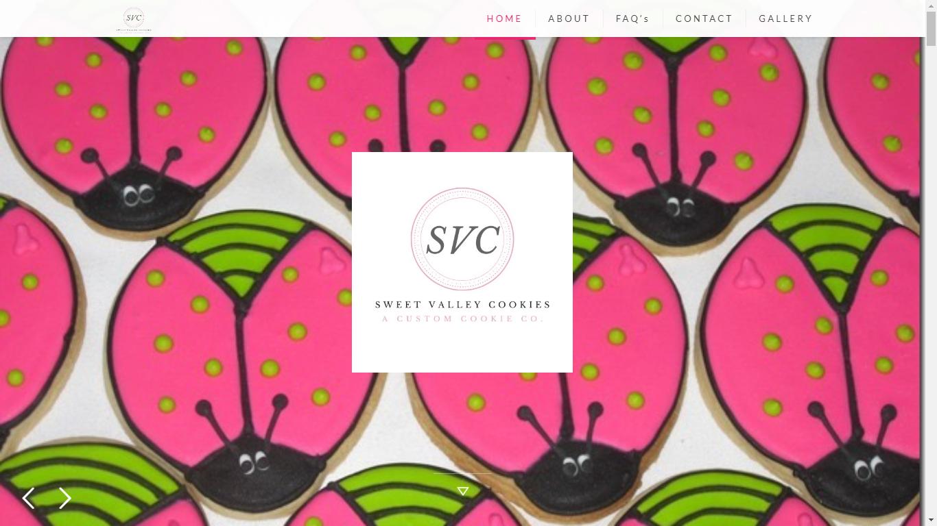 custom cookies website surrey vancouver abbotsford chilliwack langley sweet valley cookies