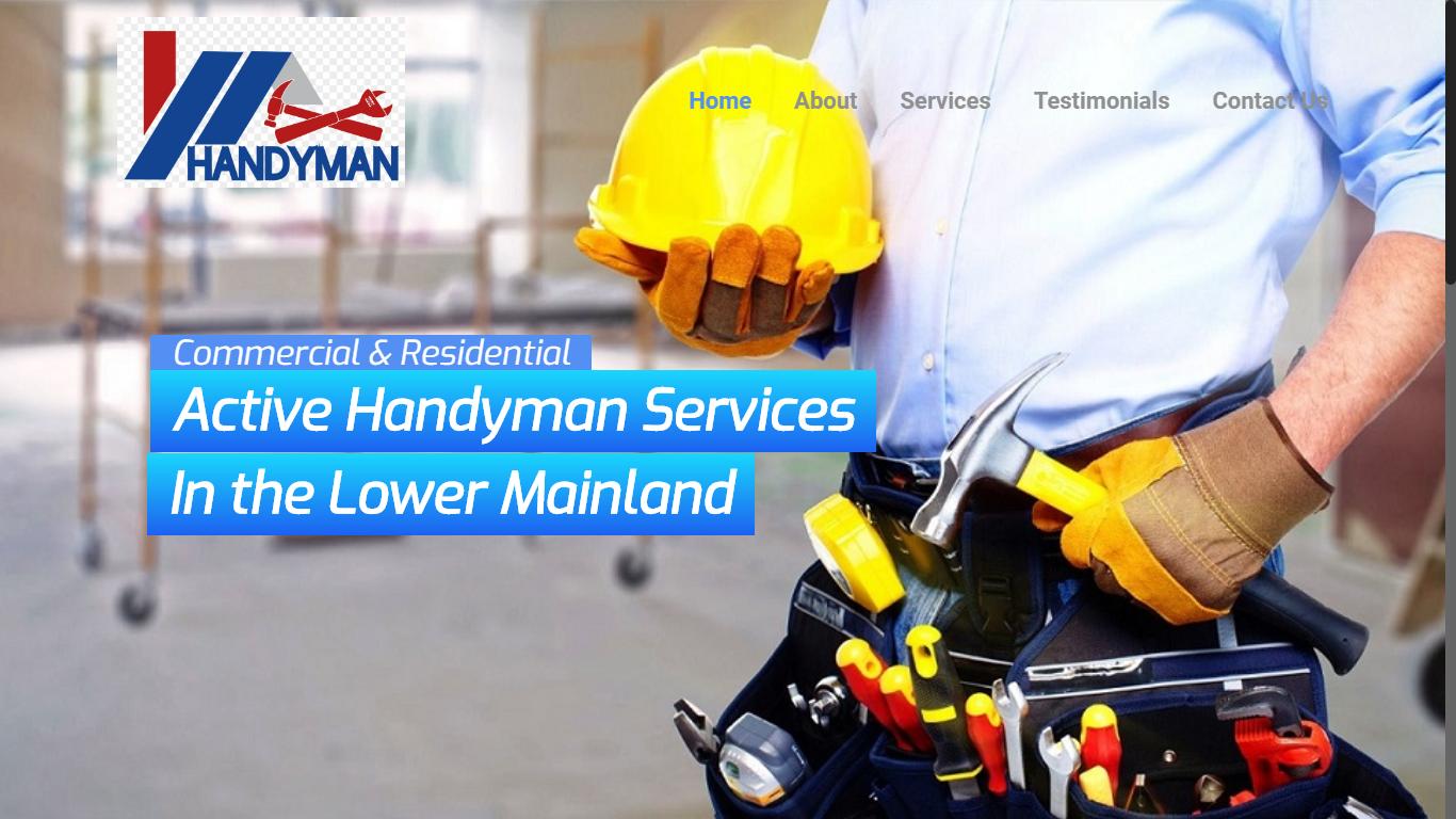 active handyman aldergrove langley website chilliwack mission