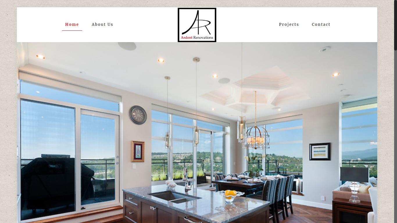 renovation company website langley ardent
