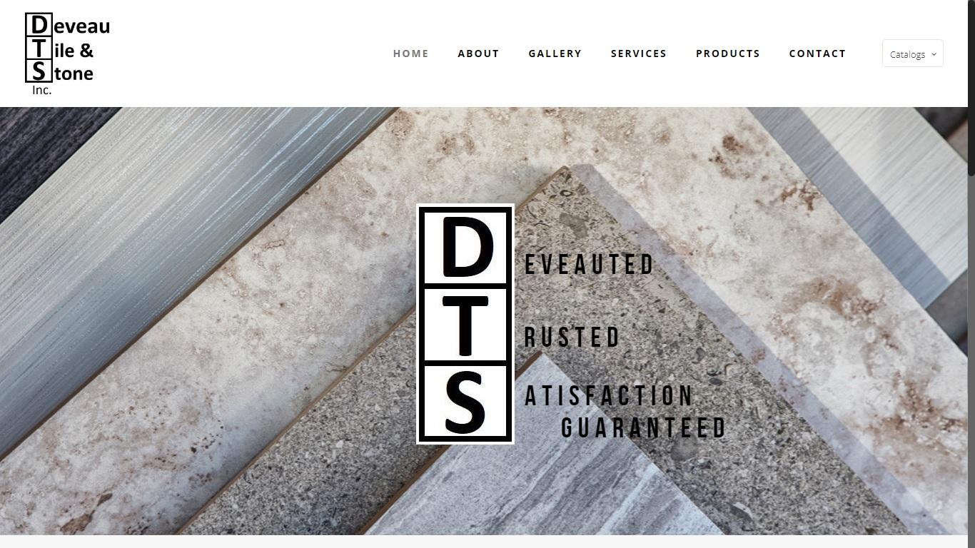 deveau tile stone abbotsford surrey vancouver code website design