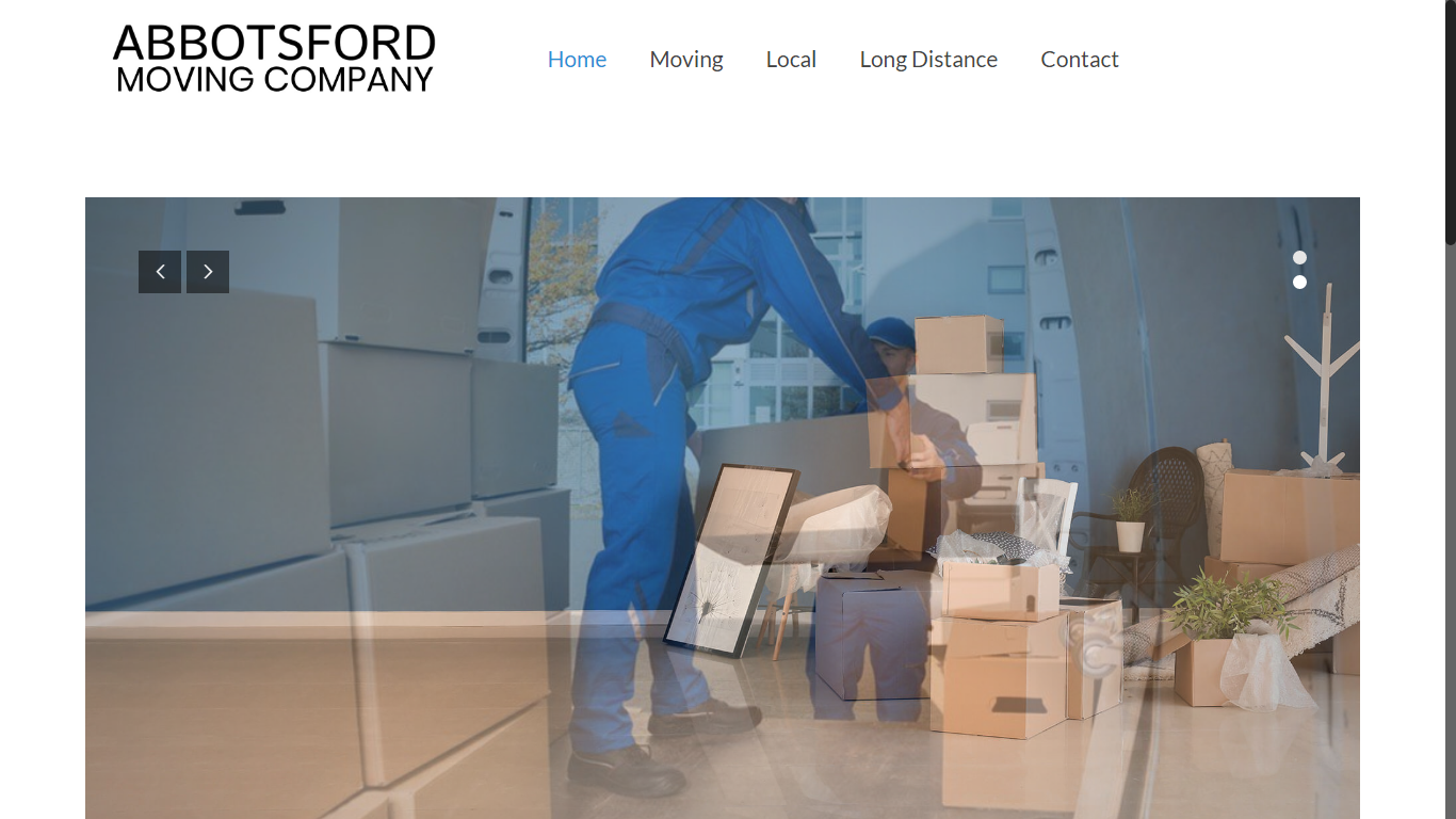 Abbotsford moving company website