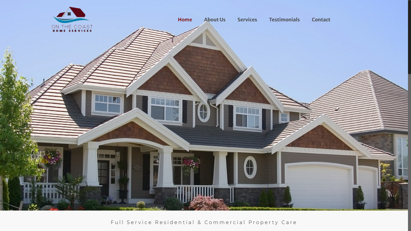 pressure washing website on the coast homes vancouver